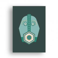 Affiche - Tiki Vibe - Masque 3