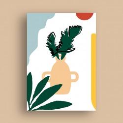 Affiche Minimal Vase