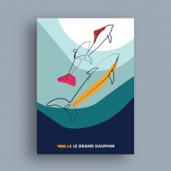 Affiche Le Grand Dauphin