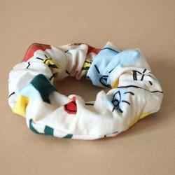 Chouchou 100% coton - motif Minimal