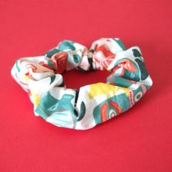 Chouchou 100% coton - motif Tiki Vibes