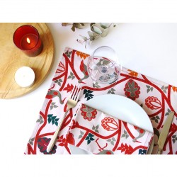 serviette de table imprimé Alsace